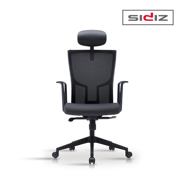[SIDIZ] 시디즈 TAB PLUS 메쉬 의자(제작상품) TN200HF 블랙