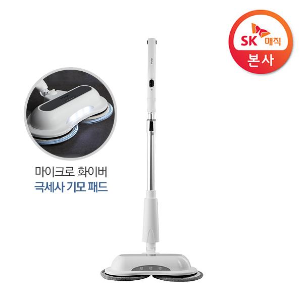 [magic] SK매직 스핀업 물걸레 무선청소기 VCL-WA10(극세사 패드 4장포함)