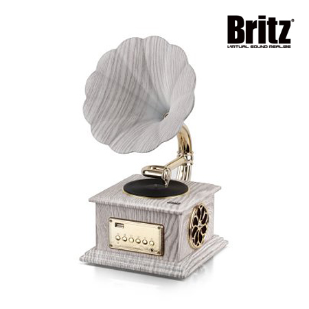 [Britz] 브리츠 앤티크 디자인 블루투스 스피커 BZ-S2018 화이트