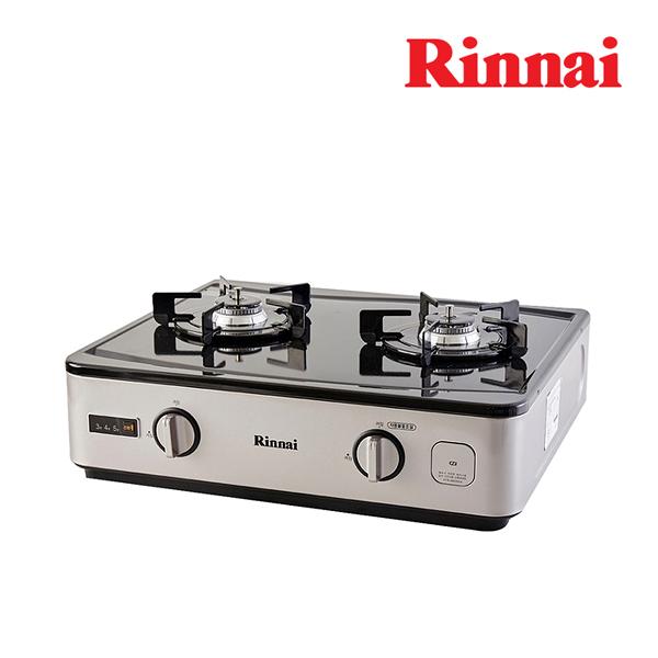 [Rinnai] 린나이 간편쿡 2구 가스레인지 RTR-AW200A LNG(도시가스)/LPG(가스통) 필수 선택/자가설치상품